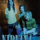 NIRVANA Band 1 FLAG CLOTH POSTER WALL TAPESTRY BANNER CD Grunge
