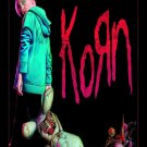 KORN The Serenity of Suffering - Black FLAG CLOTH POSTER WALL TAPESTRY BANNER CD Nu Metal