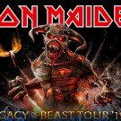 IRON MAIDEN Legacy of the Beast Tour 2019 - Horizontal FLAG CLOTH POSTER WALL TAPESTRY CD Metal