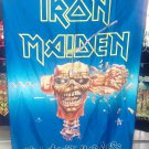 IRON MAIDEN Can I Play with Madness FLAG CLOTH POSTER WALL TAPESTRY CD Metal