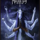 NACHTBLUT Chimonas FLAG CLOTH POSTER WALL TAPESTRY BANNER CD Black Metal