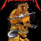 METALLICA Harvester of aSorrow FLAG CLOTH POSTER WALL TAPESTRY CD Thrash Metal