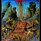 CIANIDE A Descent Into Hell FLAG CLOTH POSTER TAPESTRY BANNER CD HEAVY METAL
