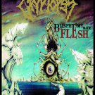 CRYPTOSY Blasphemy Made Flesh FLAG CLOTH POSTER TAPESTRY BANNER CD DEATH METAL