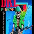 D.R.I. DRI Dirty Rotten FLAG CLOTH POSTER WALL TAPESTRY BANNER Thrash Metal