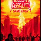 NUCLEAR ASSAULT Game Over FLAG BANNER CLOTH POSTER TAPESTRY Thrash Metal