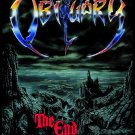 OBITUARY The End Complete FLAG CLOTH POSTER WALL TAPESTRYAN BANNER Death Metal