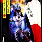 TOKYO BLADE Night of the Blade FLAG BANNER CLOTH POSTER WALL TAPESTRY CD Heavy Metal