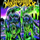 TOXIC HOLOCAUST An Overdose of Death... FLAG BANNER CLOTH POSTER WALL CD Thrash Metal
