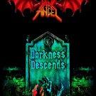 DARK ANGEL Darkness Descends FLAG BANNER CLOTH POSTER WALL TAPESTRY CD Thrash Metal