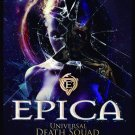 EPICA Universal Death Squad FLAG CLOTH POSTER WALL TAPESTRY CD Symphonic Metal