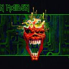 IRON MAIDEN Virus - Horizontal FLAG CLOTH POSTER TAPESTTRY BANNER CD HEAVY METAL