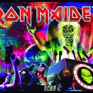 IRON MAIDEN Out of the Silent Planet FLAG CLOTH POSTER TAPESTTRY BANNER CD HEAVY METAL