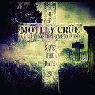 MOTLEY CRUE R.I.P. FLAG CLOTH POSTER WALL TAPESTRY BANNER CD Heavy Metal
