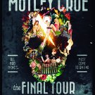 MOTLEY CRUE The Final Tour FLAG CLOTH POSTER WALL TAPESTRY BANNER CD Heavy Metal