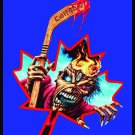 IRON MAIDEN Montreal '83 FLAG CLOTH POSTER WALL TAPESTRY CD LP