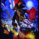 IRON MAIDEN Paris 2013 FLAG CLOTH POSTER WALL TAPESTRY CD LP