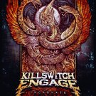 KILLSWITCH ENGAGE Incarnate FLAG CLOTH POSTER WALL TAPESTRY CD Metalcore