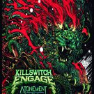KILLSWITCH ENGAGE Atonement FLAG CLOTH POSTER WALL TAPESTRY CD Metalcore