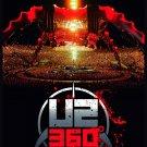 U2 360º at the Rose Bowl FLAG CLOTH POSTER WALL TAPESTRY CD DVD Rock