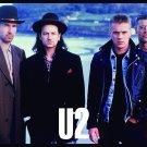 U2 360º Early Band FLAG CLOTH POSTER WALL TAPESTRY CD DVD Rock