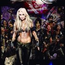 DORO Forever Warriors Forever United FLAG CLOTH POSTER WALL TAPESTRY BANNER CD Heavy Metal