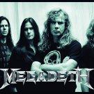 MEGADETH Band B&W Photo FLAG CLOTH POSTER WALL TAPESTRY BANNER CD Thrash