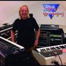 RICK WAKEMAN Photo 3 FLAG CLOTH POSTER WALL TAPESTRY BANNER CD Progressive Rock