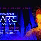 JEAN-MICHEL JARRE Alone Together Live VR FLAG CLOTH POSTER WALL TAPESTRY CD