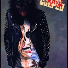 ALICE COOPER Trash FLAG CLOTH POSTER WALL TAPESTRY BANNER CD Hard Rock