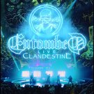 ENTOMBED Clandestine Live FLAG CLOTH POSTER WALL TAPESTRY BANNER CD Death Metal