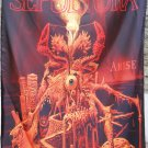 SEPULTURA Arise FLAG CLOTH POSTER WALL TAPESTRY BANNER CD Thrash Metal