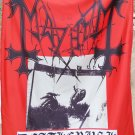 MAYHEM Deathcrush FLAG CLOTH POSTER WALL TAPESTRY BANNER CD Black Metal