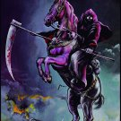 GRIM REAPER See You in Hell FLAG CLOTH POSTER WALL TAPESTRY BANNER CD Heavy Metal