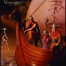 MANILLA ROAD Voyager FLAG CLOTH POSTER WALL TAPESTRY BANNER CD Heavy Metal