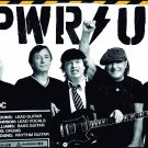 AC/DC Pwr Up FLAG CLOTH POSTER WALL TAPESTRY BANNER CD HEAVY METAL