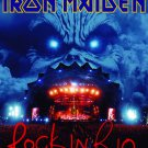 IRON MAIDEN Rock In Rio FLAG CLOTH POSTER WALL TAPESTRY CD LP
