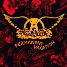 AEROSMITH Permanent Vacation FLAG CLOTH POSTER WALL TAPESTRY CD LP