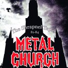 METAL CHURCH The Shrapnel Tapes 81-84 FLAG CLOTH POSTER WALL TAPESTRY BANNER CD Heavy Metal