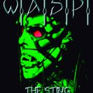 WASP W.A.S.P. The Sting FLAG CLOTH POSTER WALL TAPESTRY BANNER Heavy Metal