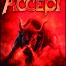 ACCEPT Blind Rage FLAG CLOTH POSTER WALL TAPESTRY BANNER Heavy Metal