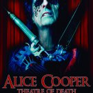 ALICE COOPER Theatre of Death FLAG CLOTH POSTER WALL TAPESTRY BANNER CD Hard Rock