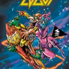 EDGUY Rocket Ride FLAG CLOTH POSTER WALL TAPESTRY BANNER Power Metal