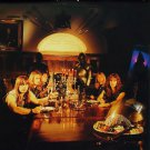 IRON MAIDEN Piece of Mind - Dinning Room FLAG CLOTH POSTER WALL TAPESTRY CD LP