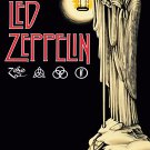 LED ZEPPELIN The Hermit - Album IV FLAG CLOTH POSTER WALL TAPESTRY BANNER CD LP