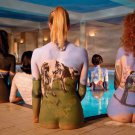 PINK FLOYD Back Catalogue Girls Bodypainting 2 FLAG POSTER TAPESTRY BANNER CD