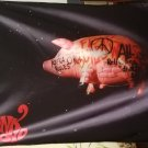 PINK FLOYD Algie Pig FLAG CLOTH POSTER WALL TAPESTRY BANNER Prog Rock CD LP