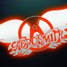AEROSMITH Band Logo FLAG CLOTH POSTER WALL TAPESTRY CD LP Heavy Metal