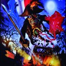 IRON MAIDEN Maiden England - Paris Tour 2013 FLAG CLOTH POSTER TAPESTTRY BANNER CD HEAVY METAL