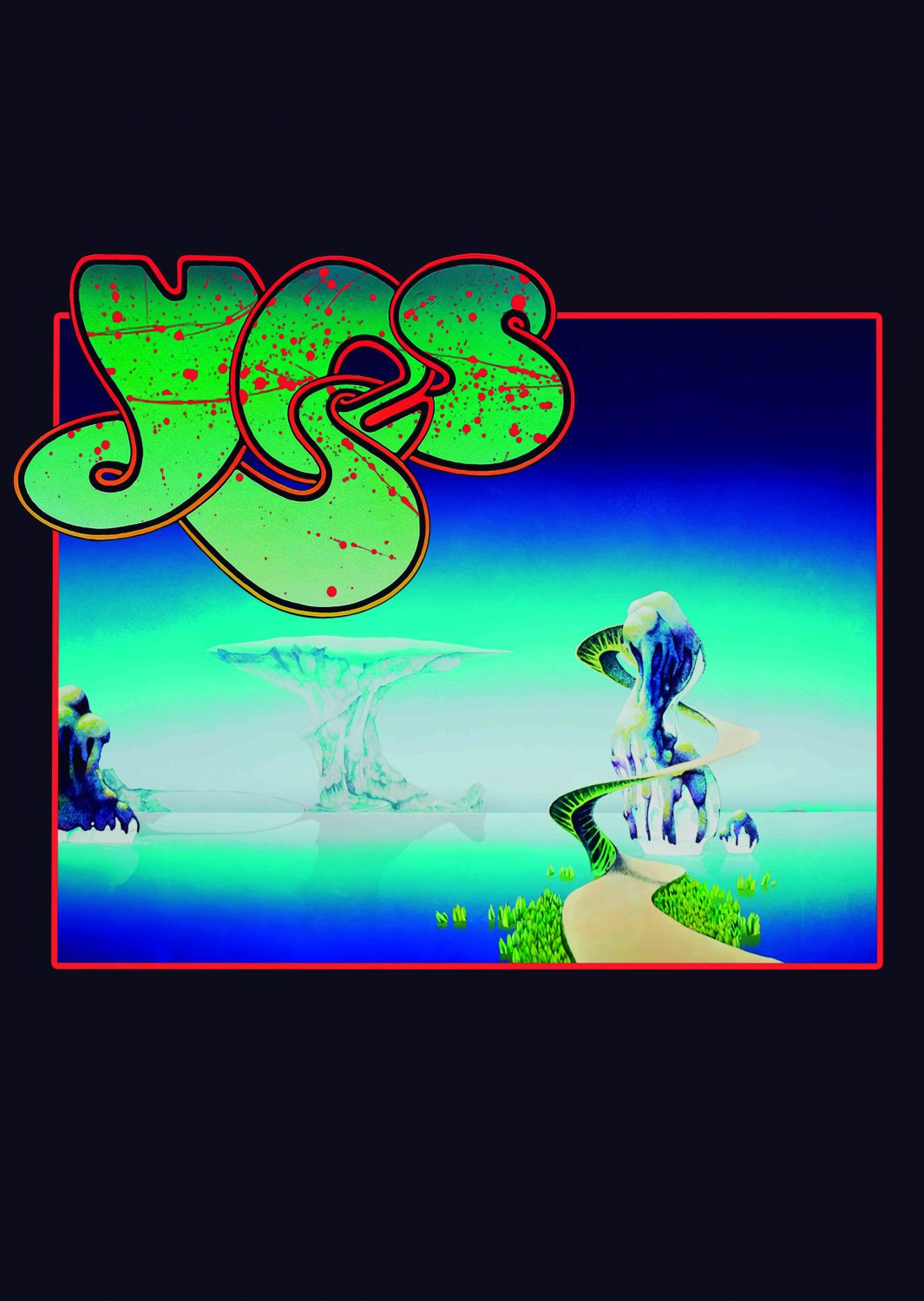 YES Yessongs FLAG CLOTH POSTER WALL TAPESTRY BANNER CD LP Progressive Rock